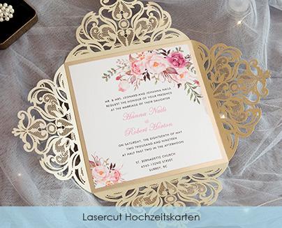 competitive price 6dfef 153c7 Günstige hochwertige Laserschnitt Hochzeitskarten Großhandel ...
