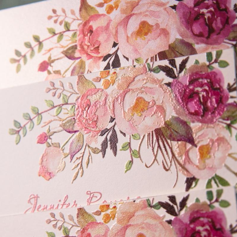 Kundenspezifische Hochzeitskarten Mit Uv Druck Cup 0 00