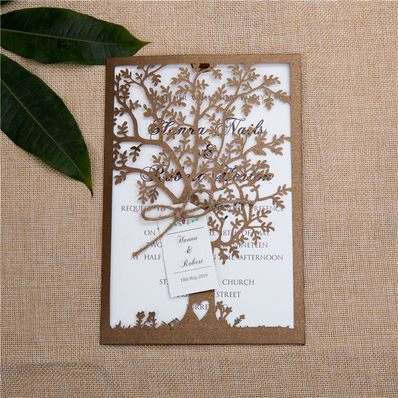 Die Cut Invitations as awesome invitations example