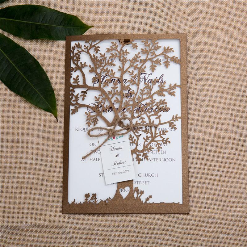 Wedding Invitations Paper Supplies for beautiful invitations sample