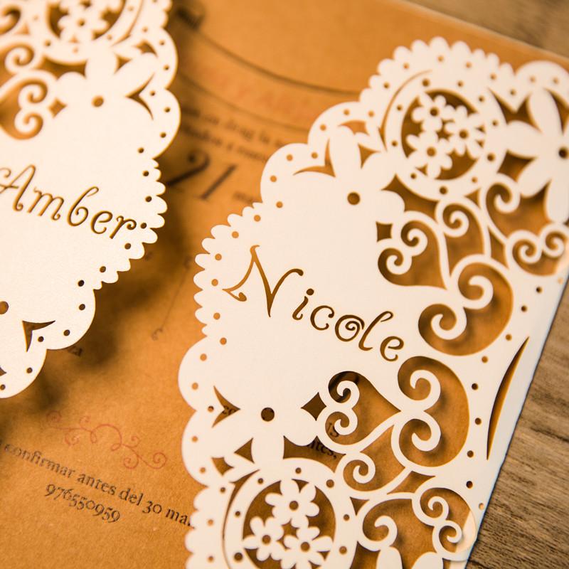 Personalisierte Laserdruck Hochzeitskarte Mit Namen Wpl0145 Wpl0145